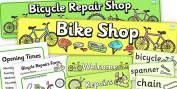 Bicycle Repair Role Play Primary Resources, bike, repair, fix