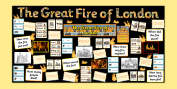 The Great Fire of London Primary Resources, Fire of London, Plague, Great, Grat, Fire