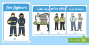 People Who Help Us Primary Resources, emergency service, role play