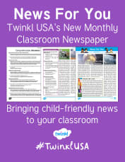 June 2017 News For You is Hot Off the Twinkl Press!