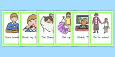 Daily Routines Cards