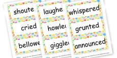 Verbs Cards