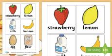 Pancakes Recipe Cards
