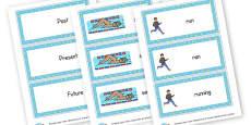 Verbs Tenses Word Cards