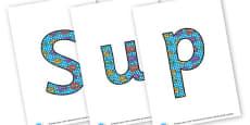 Superheroes - Display Lettering