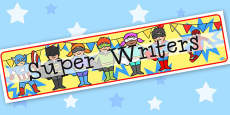 Super Writers - Display Lettering