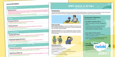 PlanIt Y5 World War II: Battle of Britain Topic Overview