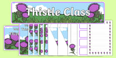 Thistle Class Resource Pack