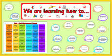 Year 1 Maths Target Display Pack