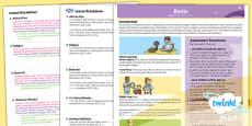History: Benin UKS2 Planning Overview CfE