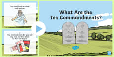 The Ten Commandments PowerPoint
