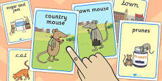 The Town Mouse and the Country Mouse Display Posters