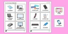 New Technologies Flashcards