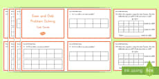 Even and Odd Problem Solving Task Cards
