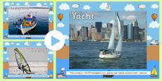 Sea Boats Transport Photo PowerPoint