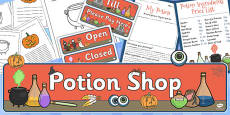 Potion Shop Role Play Pack
