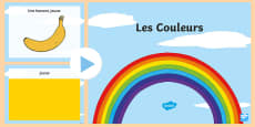 Colours PowerPoint - French