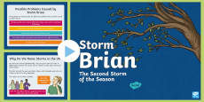 * NEW * Storm Brian Information  PowerPoint