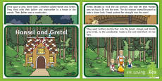 Hansel and Gretel Story Sequencing