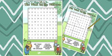 The Wind in the Willows Wordsearch