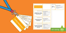 Lanyard Sized Year One Reading Comprehension Objectives Cards