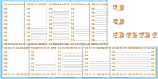 Guinea Pig Page Borders