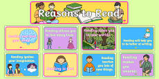 Reasons to Read Display Pack