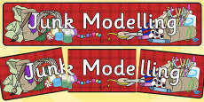 Junk Modelling Display Banner