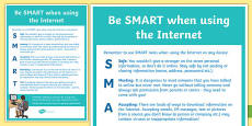 Computing Be SMART Online Poster