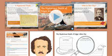 The Mysterious Death of Edgar Allan Poe Lesson Pack