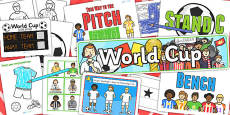 Football World Cup Resource Pack for Childminders