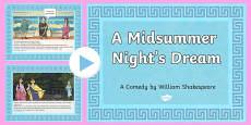 Shakespeare's Midsummer Night's Dream PowerPoint