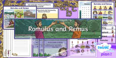 PlanIt Y4 Myths and Legends: Romulus and Remus Additional Resources