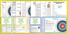 Olympics Maths Activity Pack