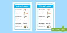 IKEA Tolsby KS1 General Writing Prompt Frame