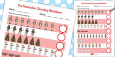 The Nutcracker Counting Sheet