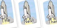 Sentence Starters On Rockets