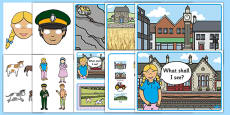 The Train Ride Story Sack Resource Pack