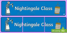 Florence Nightingale Themed Classroom Display Banner