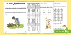 UKS2 The Mystery of the Easter Bunny Costume Game