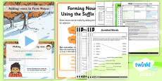PlanIt Y2 SPaG Lesson Pack: Forming Nouns using -ness