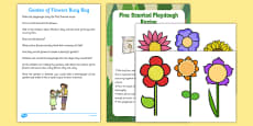 Garden of Flowers Busy Bag Resource Pack for Parents