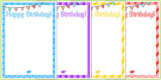 10th Birthday Party Editable Poster