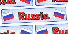 Russia Display Banner