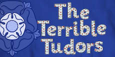 The Terrible Tudors Display Lettering