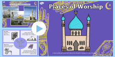 Places of Worship Muslim Mosques KS1 PowerPoint