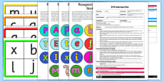 Letter Recognition Wriggly Worm Activity EYFS Adult Input Plan and Resource Pack