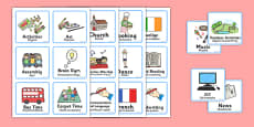 Visual Timetable for Reception FS2 Polish Translation