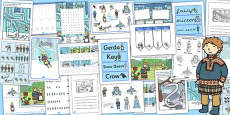 The Snow Queen Resource Pack