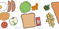 Food Cut Outs